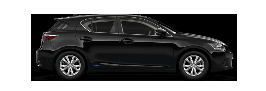 zijaanzicht Lexus CT 200h