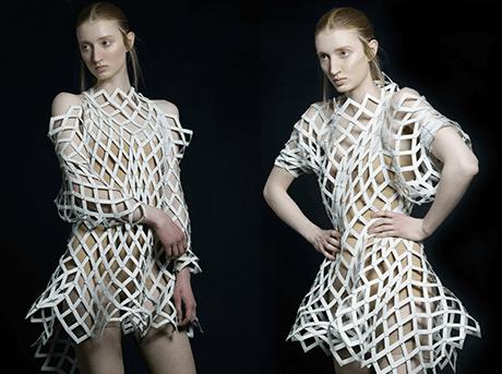 Shape Shifters is gebaseerd op een modulair principe voor textiel