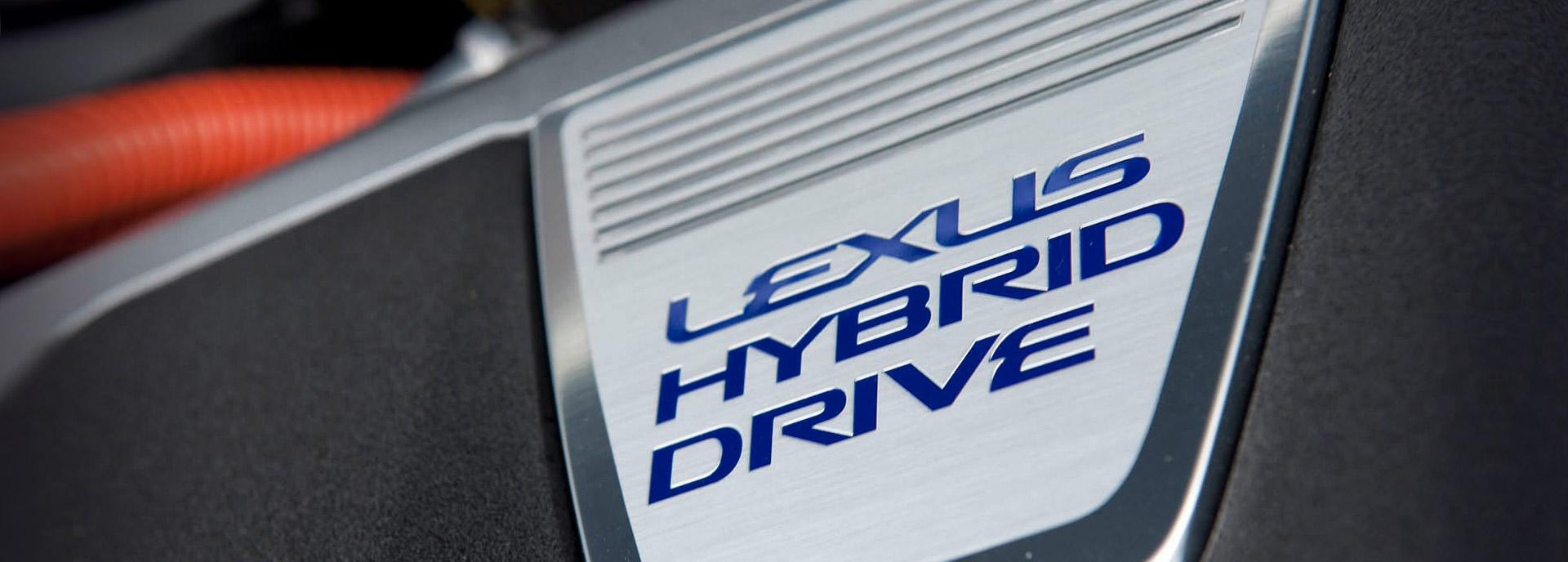 Logo Lexus Hybrid Drive