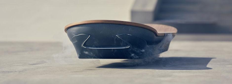 Lexus Hoverboard ingezoomd