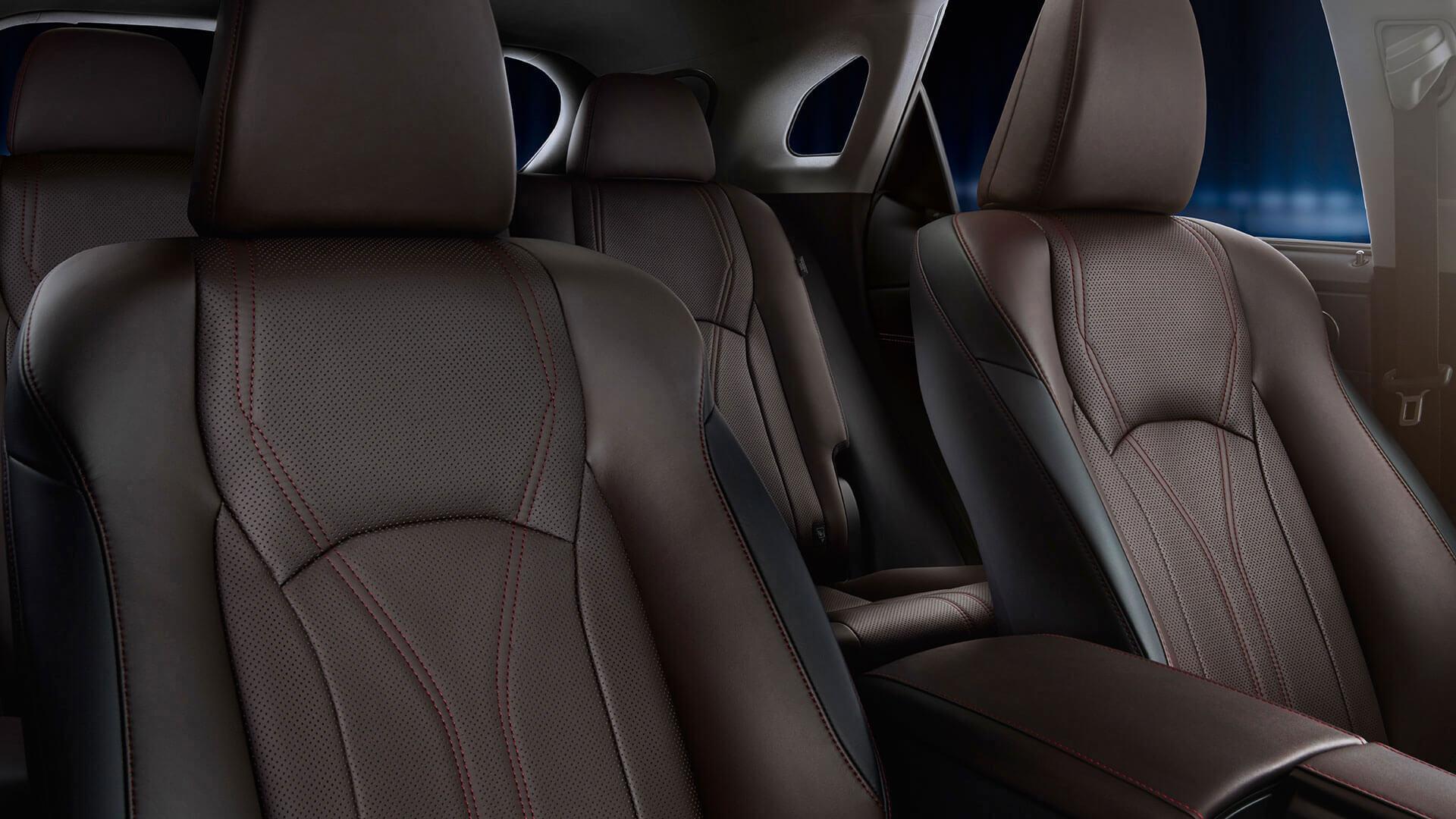 2017 lexus rx 450h features seat comfort