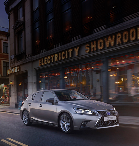 2018 lexus ct model range tile