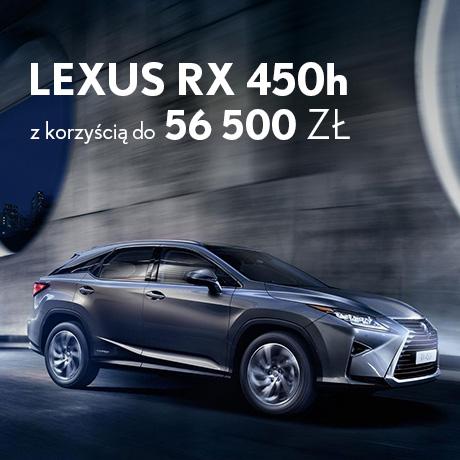 Oferta specjalna 2016 RX450h