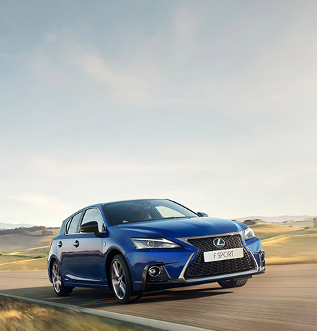 2018 lexus ct model range tile f sport
