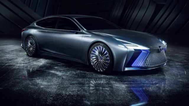 2017 Lexus apresenta concept LS