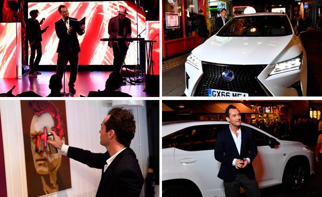 Джуд Лоу совместно с Lexus
