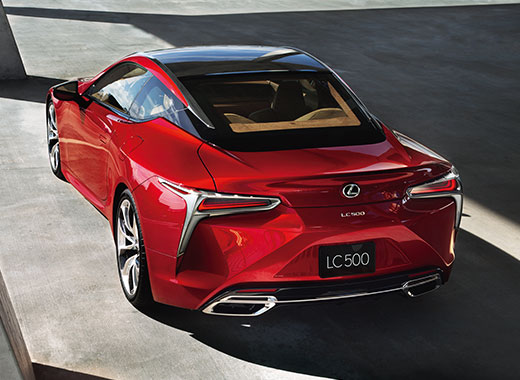 2017 Lexus LC 500 Design Gallery 004