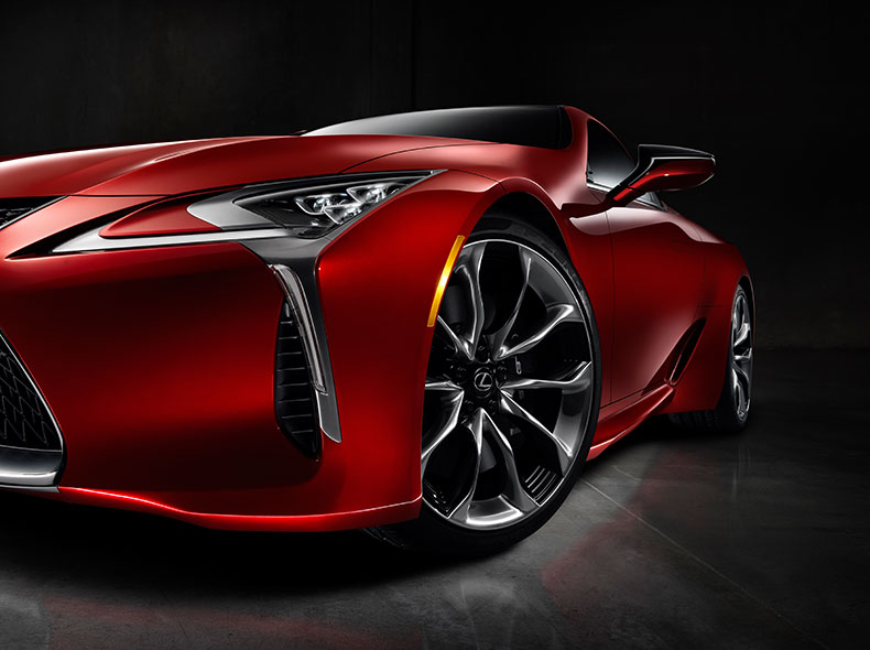 2017 Lexus LC 500 Design Gallery 007