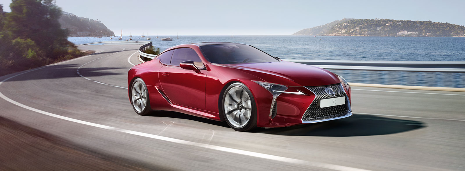 2017 Lexus LC 500 Driving Gallery 001