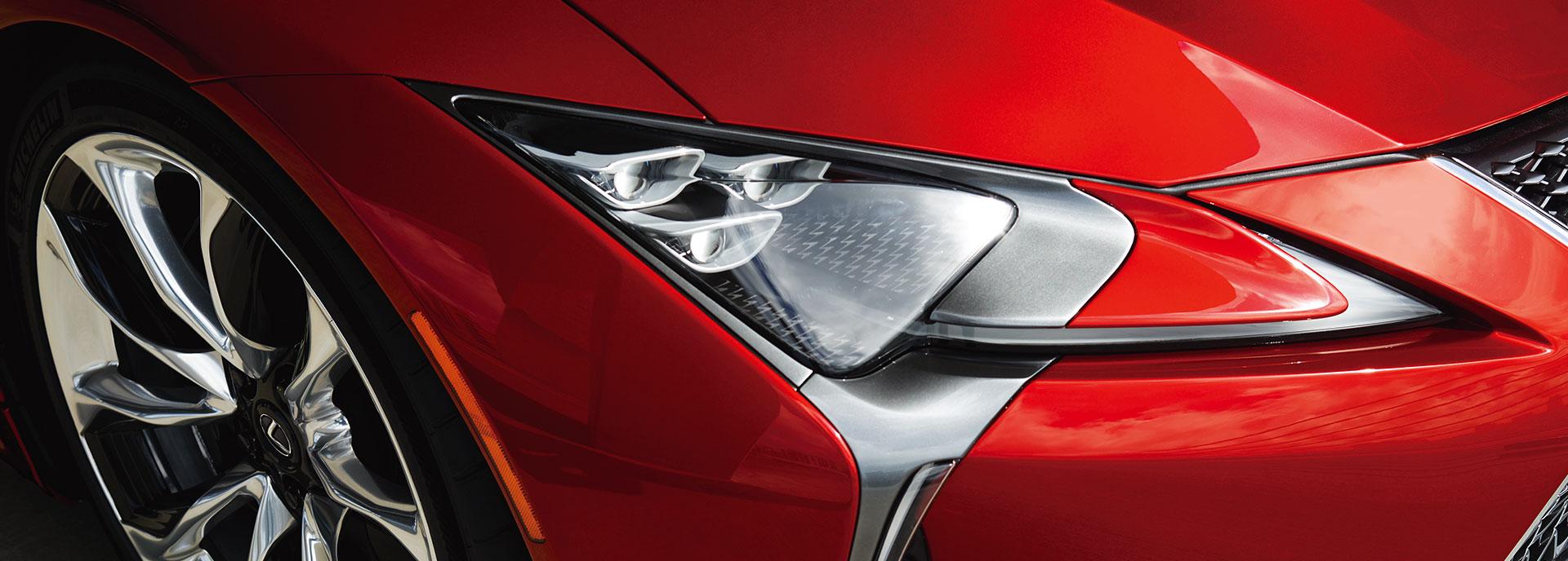 2017 Lexus LC 500 Exceptional Details