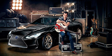 Lexus и Марк Ронсон объявили о сотрудничестве