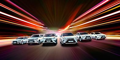 Модельный ряд Lexus
