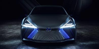 Концепт кар Lexus LS