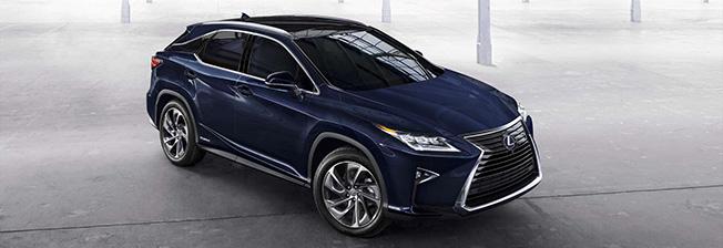 Синий Lexus RX 450h