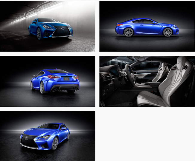 lexus rc f text
