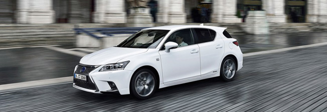 lexus ct200h eco 2014 top