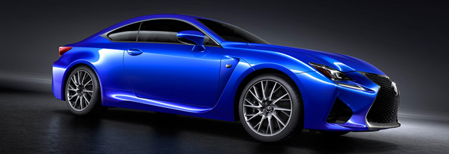 lexus rc f top