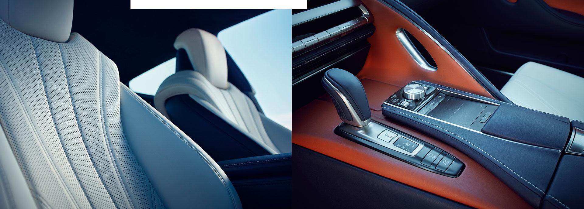 2017 Lexus LC 500h Interior