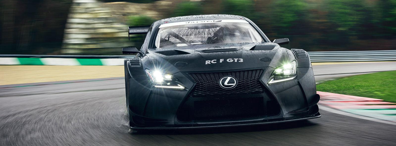 Lexus Racing RC F GT3 framifrån
