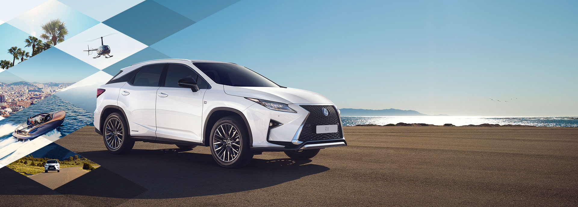 2017 Lexus RX 450h TVC Home Hero