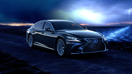 Videobild lansering Lexus LS 500h