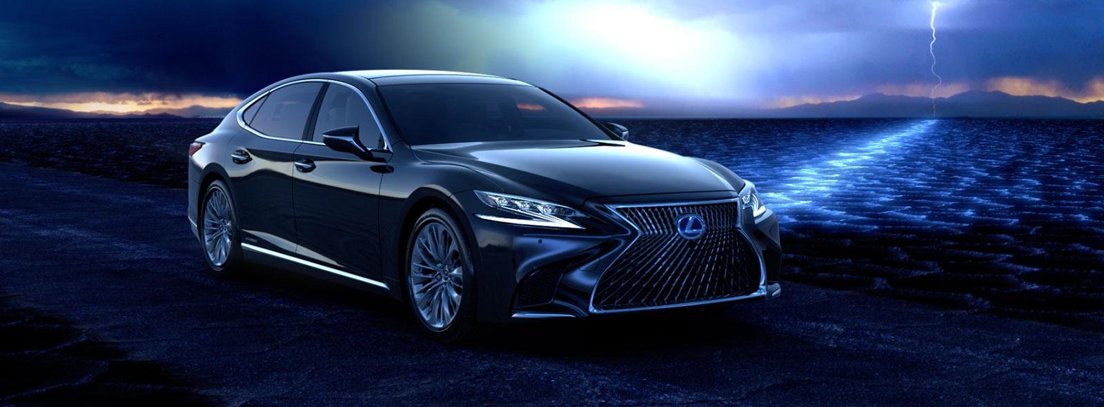Videobild Lexus LS 500h introduktion