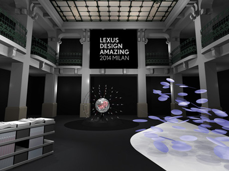 Lexus Amazing in Motion på Milan Design Week 2014