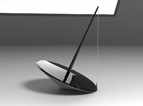 Supermoderna klockan Pause av Stuti Rajeev Lexus Design Awards 2014
