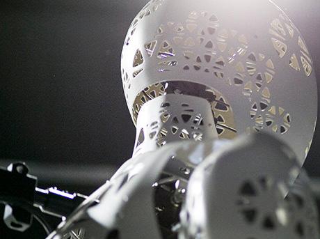 Lexus Steps Utforska rörelse i jätte robotar