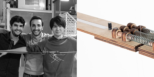 Elgenerator Kinetisk skulptur Uppfinning Innovation Lexus Design Award
