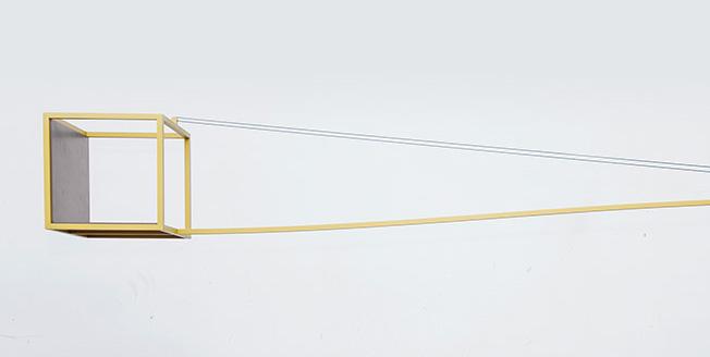 Den unika balanserande bokhyllan Crane av Magental Lexus Design Award