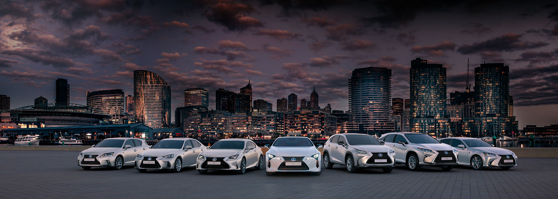 Lexus hybrider i stadsmiljö