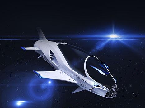 Lexus rymdfarkost SKYJET