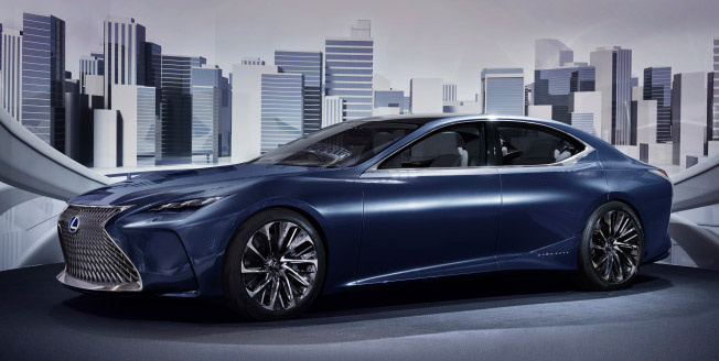 Lexus bränslecellsdrivna koncept LF FC