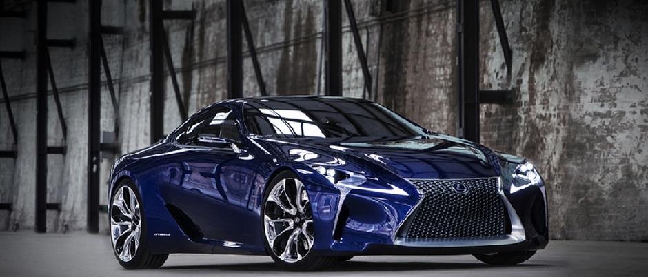 Lexus konceptbil LF LC