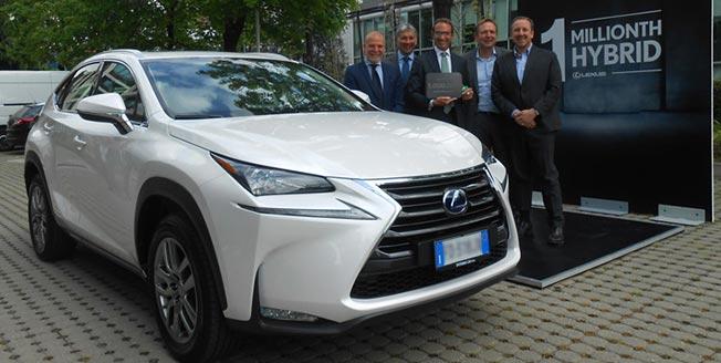 En miljon Lexus hybrider sålda