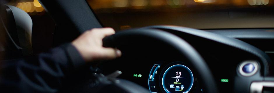 Lexus instrumentpanel belysning