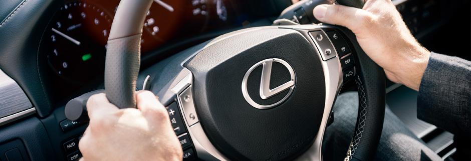 Detaljbild Lexus ratt