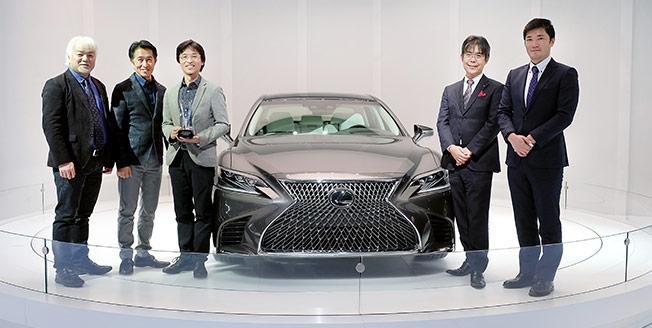 Lexus LS 500 får designpris i Detroit 2017