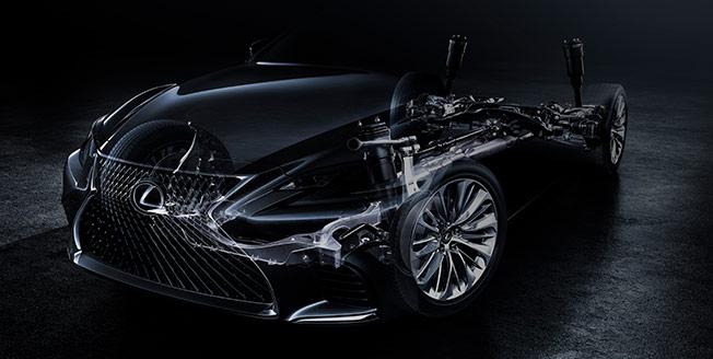 Teaserbild på Lexus LS 600
