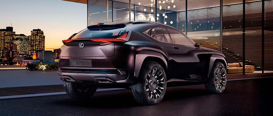 UX Concept Lexus konceptbil
