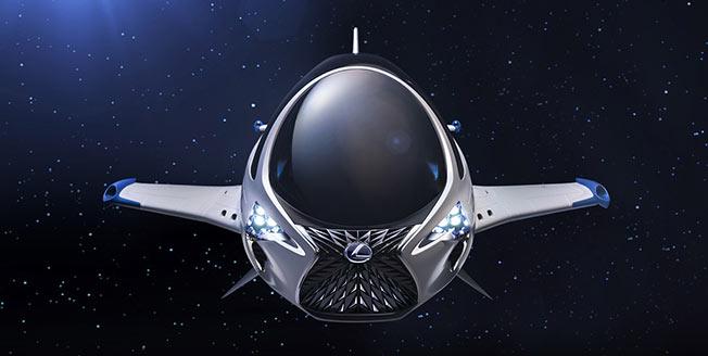 Lexus rymdfarkost Valerian