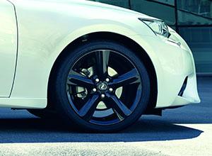 is 300h alloy wheels