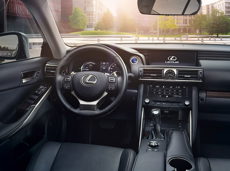 Förarsäte Lexus IS 300h 2017