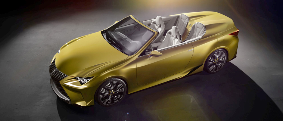 Lexus konceptbil LF C2