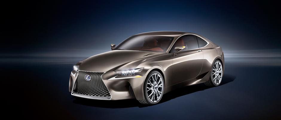 Lexus konceptbil LF CC