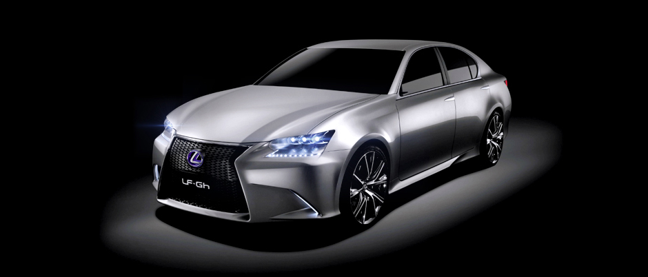 Lexus konceptbil LF GH