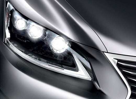 Framlyse detaljbild Lexus LS 600h L