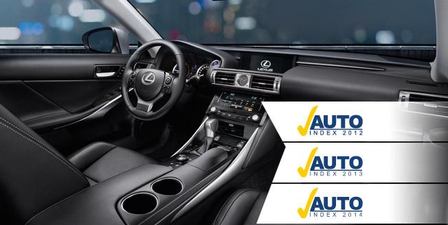 Lexus vinner AutoIndex 2014