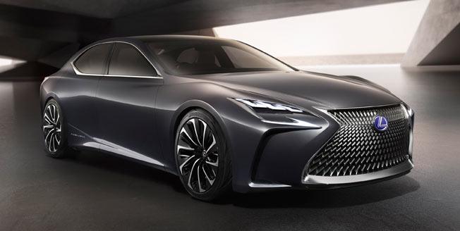 Lexus konceptbil LF FC